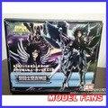 FÃS MODELO modelo IN-STOCK mito HADES Santuário Saint Seiya Cloth Myth EX armadura de metal EX ação figuras de brinquedo