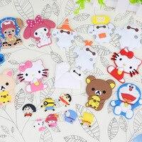 10 חמה למכירה הזולה יח'\אריזה Kawaii Cartoon ילדי צעצוע מגנטים למקרר קישוט בית מדבקות בעלי חיים צורות שונות