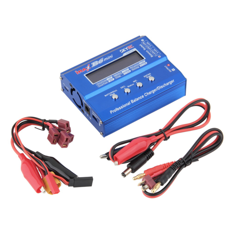 1pcs iMax B6 Digital LCD RC Lipo NiMh Battery Balance Charger Accessories New imax b6 digital lcd lipo nimh battery balance charger power adapter 12v 5a register free shipping