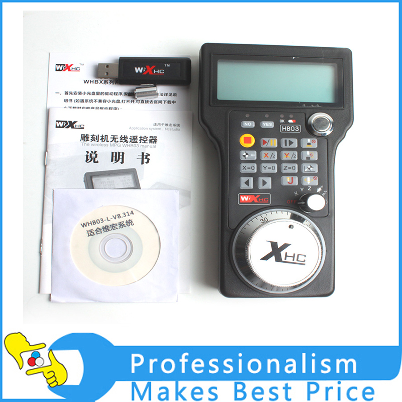 Wireless USB CNC Electronic Handwheel MPG For NCstudio Control System special offer japan sumtak brand electronic handwheel sentaike fanuc system with electronic handwheel big promotion