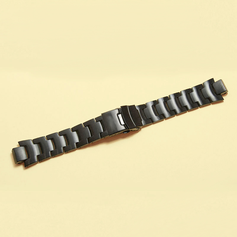 Image 4 - Stainless steel Strap  for CASIO PRG 300/PRW 6000/PRW 6100/PRW 3000/PRW 3100 Watch bands-in Watchbands from Watches