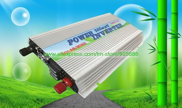 Freeshipping!On Grid Inverter 500w Grid Tied Inverter, DC10.5~28V to AC160V~280V,Best quality