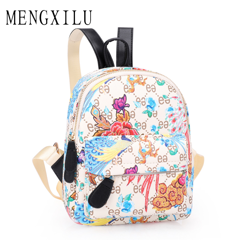 MENGXILU 2018 Cute Women Backpack For Teenagers Girls Children Mini Back Pack Kawaii Girls Kids Small Backpacks Feminine Packbag