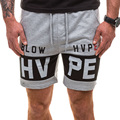 2017 Fashion Summer Shorts Mens Cotton Shorts Male Quick Dry Breathable Soft Comfortable With Letter printing Men Casual Shorts