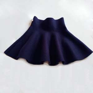 New Baby Girls Winter Clothes Fashion Casual Knit Skirt Princess Tutu Skirts Kids Christmas Clothes Children Clothes 6M-14 Years(China)