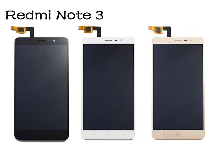 imágenes para Rojo Mi Nota 3 LCD Display + Touch Screen Panel Digitizerl Accesorios Para Xiaomi Hongmi Nota 3/RedRice Nota $ Number