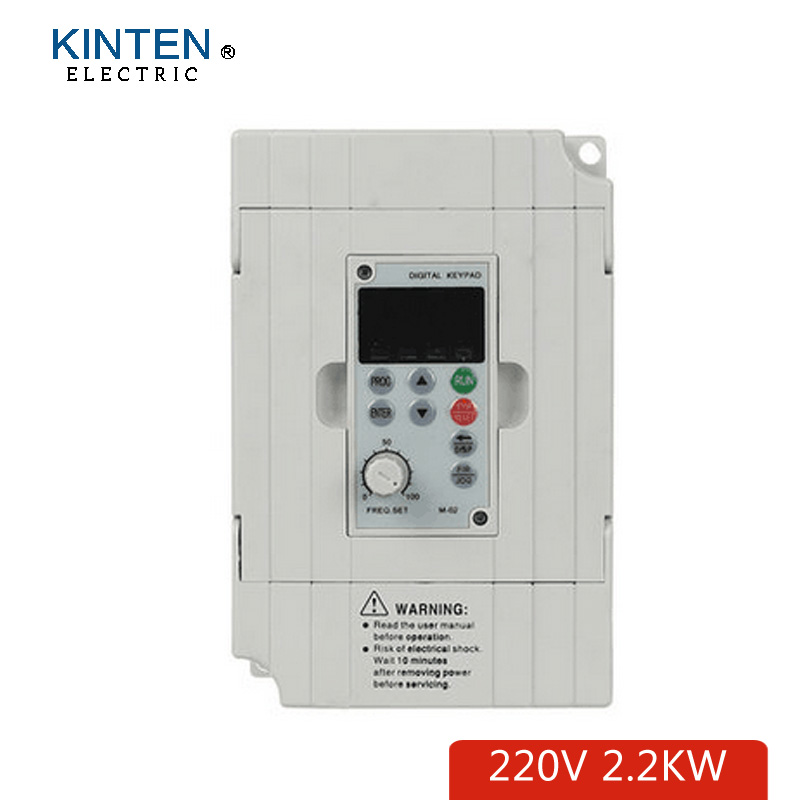 Factory CNC Spindle motor speed control 220v 2.2kw VFD Variable Frequency Drive VFD Inverter 1HP or 3HP frequency inverter 220v 5 5kw vfd variable frequency drive vfd inverter 3hp input 3hp output cnc spindle motor driver spindle motor speed control