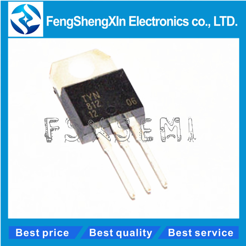 10PCS TYN812 TO220 12A//800V New Good Quality