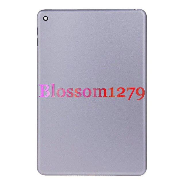 10 PCS Trở Lại Pin Bìa Nhà Ở Cho Apple iPad Mini 3 3rd Gen A1599 A1600 Phía Sau Bảng Điều Khiển Cửa Trường Hợp Sửa Chữa thay thế DHL Miễn Phí