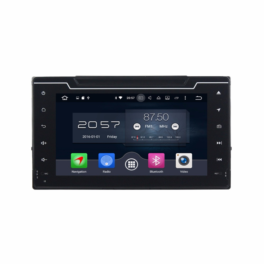 Octa Core 8 Android 6.0 Car Radio DVD GPS for Toyota Corolla 2016 2017 With 4GB RAM Bluetooth 32GB ROM WIFI USB Mirror-link