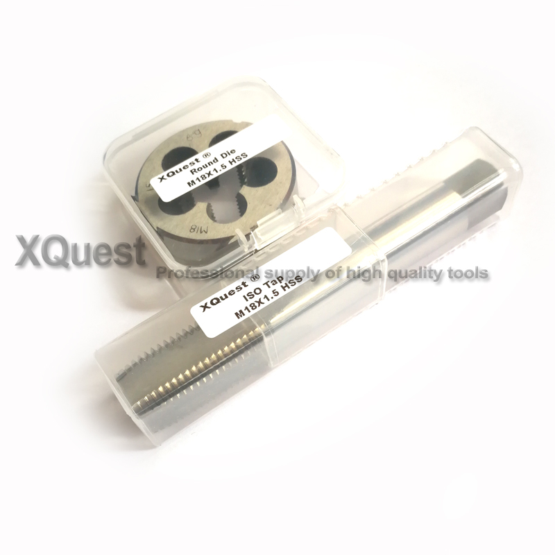 2pcs Metric Screw Hand Tap And Die Set Fine Thread Dies Taps Suit M4 M5 M6 M7 M8 M9 M10 M11 M12 M13 M14 M15 M16 M17 M18 M19 M20