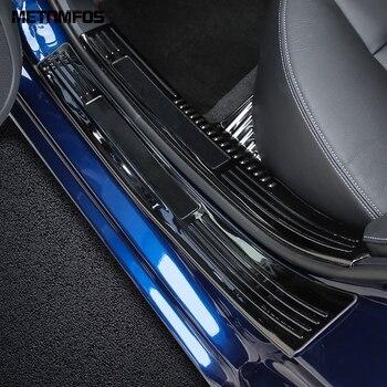 Nissan Altima için 2019 2020 Aksesuarları Iç + Dış Arka Tampon Ayak Plakası Bagaj Kapağı Trim ve Kapı Eşiği Itişme Koruma etiket