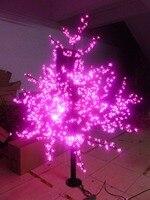 Бесплатная доставка 6ft/1.8 м под цветущей Сакурой свет открытый Домашний Декор 1,024 светодиоды розовый цвет водонепроницаемый hoiday Рождественс