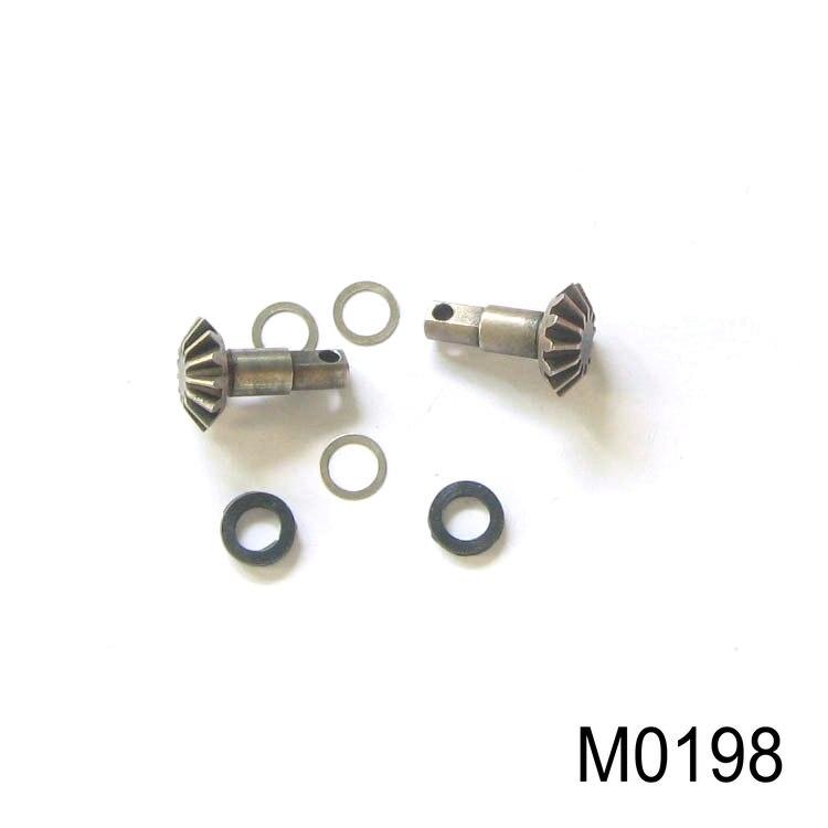 1/10 HQ 727 RC Auto Ersatzteile M0198 Differential Geschwindigkeit Radsätze