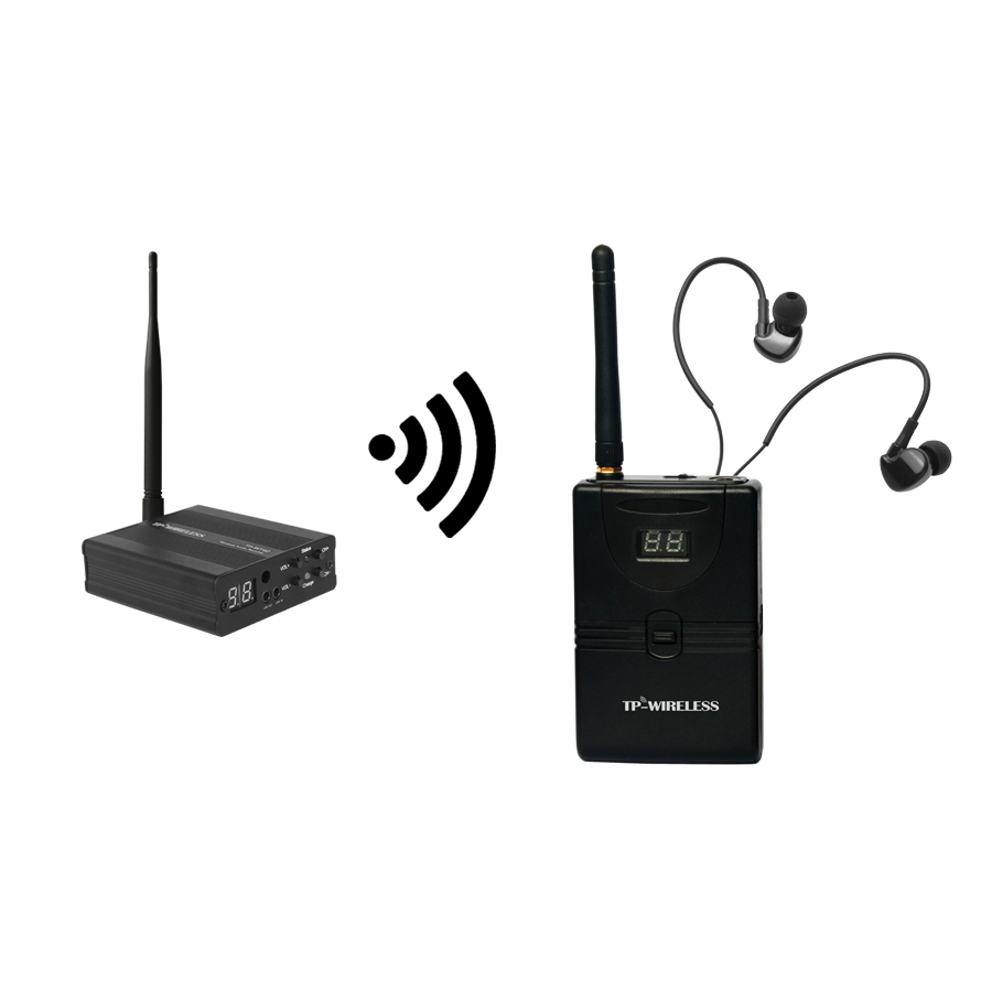 TP wireless In Ear Monitor System 2.4GHz Professional Digital Wireless In Ear Monitor Stage In Ear Audio System Earphone StageTP wireless In Ear Monitor System 2.4GHz Professional Digital Wireless In Ear Monitor Stage In Ear Audio System Earphone Stage