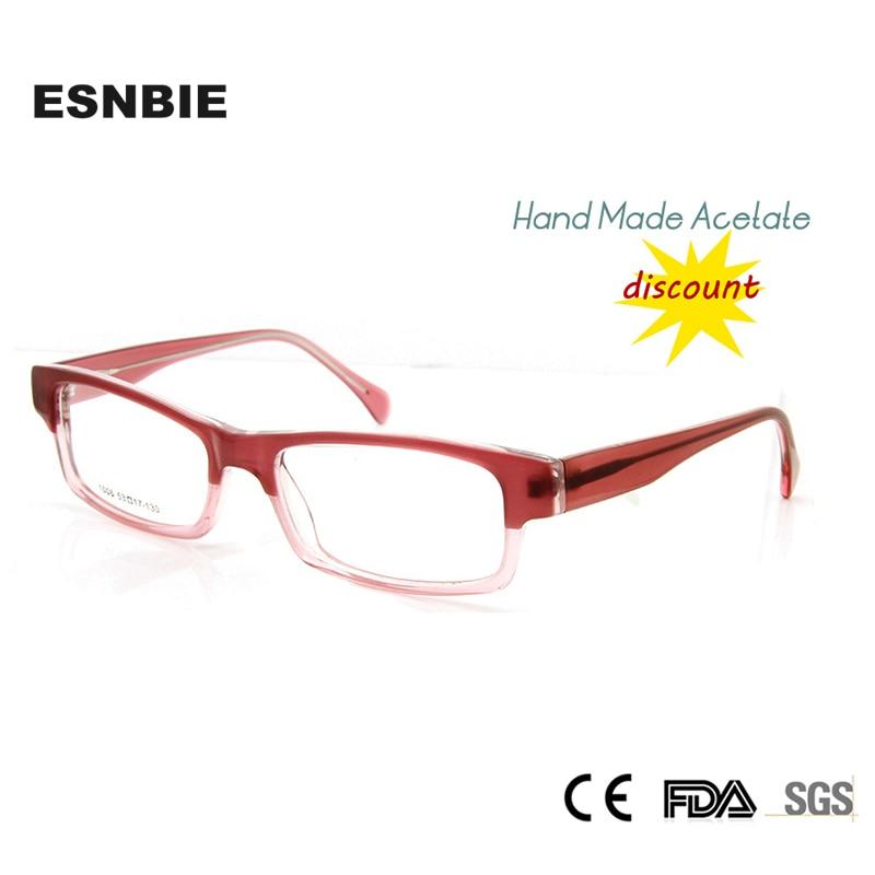 ESNBIE Designer Brillen Rahmen für Frauen Billige Handarbeit Azetat ...