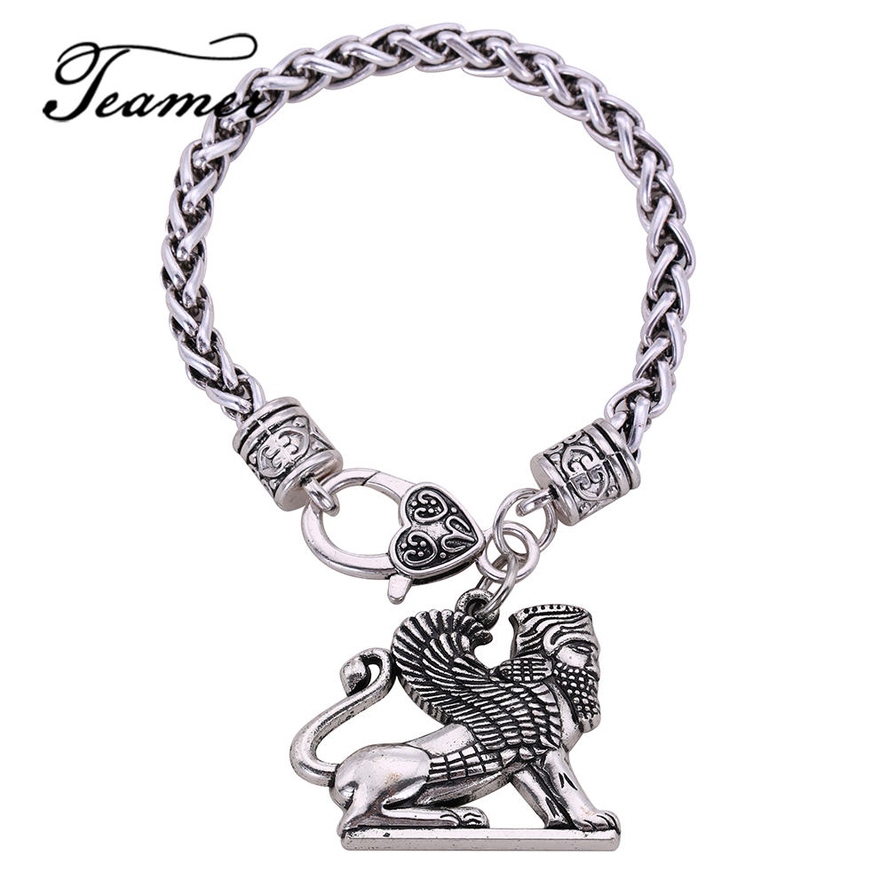 Detail Feedback Questions About Teamer Ancient Charm Bracelet Men