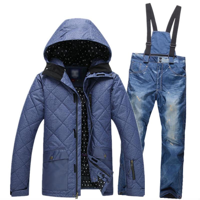 2017 New Arrival Winter Snowboarding men's Windproof Waterproof Ski Pants Breathable Sportswear men jackets skiing casio g shock g classic ga 100c 8a