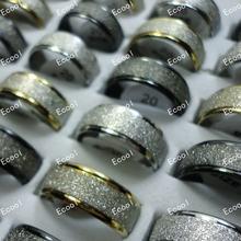 150 шт модные матовые блестящие кольца для мужчин и женщин ювелирные
