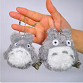 Kawaii Totoro Plush Keychain for Bag/Phone Decoration 7cm/10cm Height Soft Peluche Anime My Neighbor Totoro Doll for Kids #40