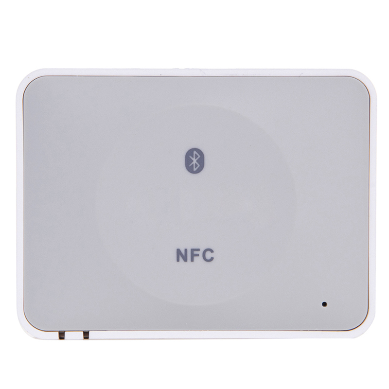 IBT-08 NFC Desktop Bluetooth Audio Receiver Wireless HiFi Music Stereo Adapter for iPad/Tablets/Phones/PC/Sound bluetooth 4 0 edr audio receiver board wireless stereo hifi amplifier sound module
