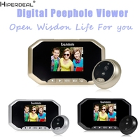 HIPERDEAL Smart House 3 TFT HD Door Peephole Camera 160 Degrees Detection Video Viewer Night Vision