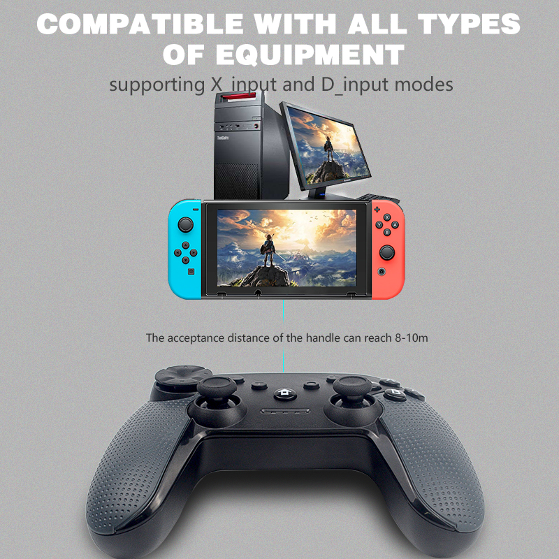 Image 2 - DATA FROG For Nintend Switch Wireless Bluetooth Game Controller Gamepad For PC Game Joystick Bluetooth Controller-in Gamepads from Consumer Electronics