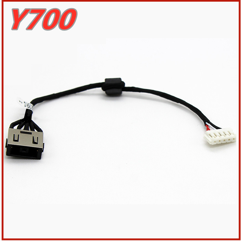 <font><b>Laptop</b></font> DC Power Jack Cable DC Charging Connector Port Socket Wire For <font><b>Lenovo</b></font> IdeaPad <font><b>Y700</b></font> <font><b>Y700</b></font>-14ISK <font><b>Y700</b></font>-17ISK 80Q0 image