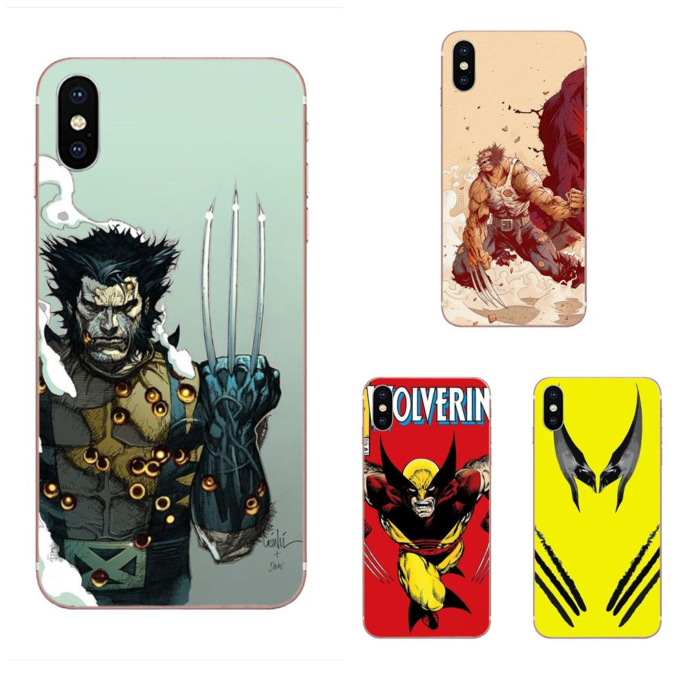 High Quality Classic High-End For Huawei Honor Mate 7 7A 8 9 10 20 V8 V9 V10 G Lite Play Mini Pro P Smart Comics X-men Wolverine image