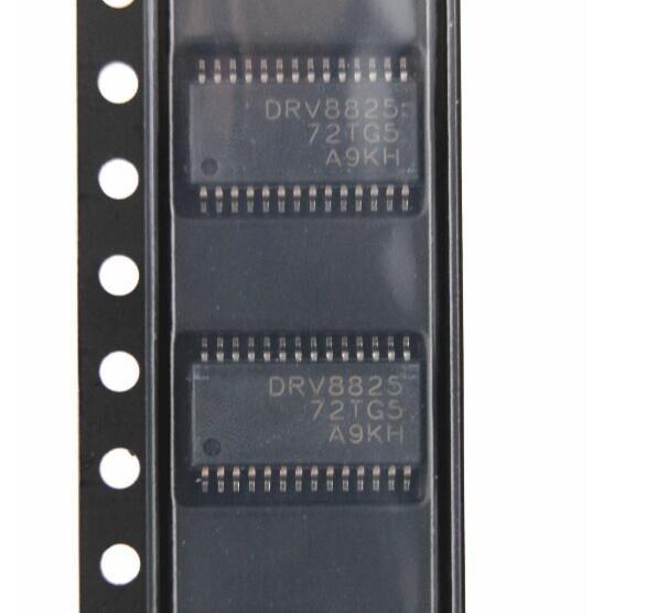 משלוח חינם 50 יחידות שבב נהג מנוע DRV8825PWPR DRV8825 HTSSOP28 חדש מקורי