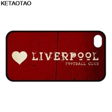 KETAOTAO I love Liverpool Retro Red Phone Cases for iPhone 4S 5C 5S 6S 7 8 Plus X for Samsung NOTE Case Soft TPU Rubber Silicone