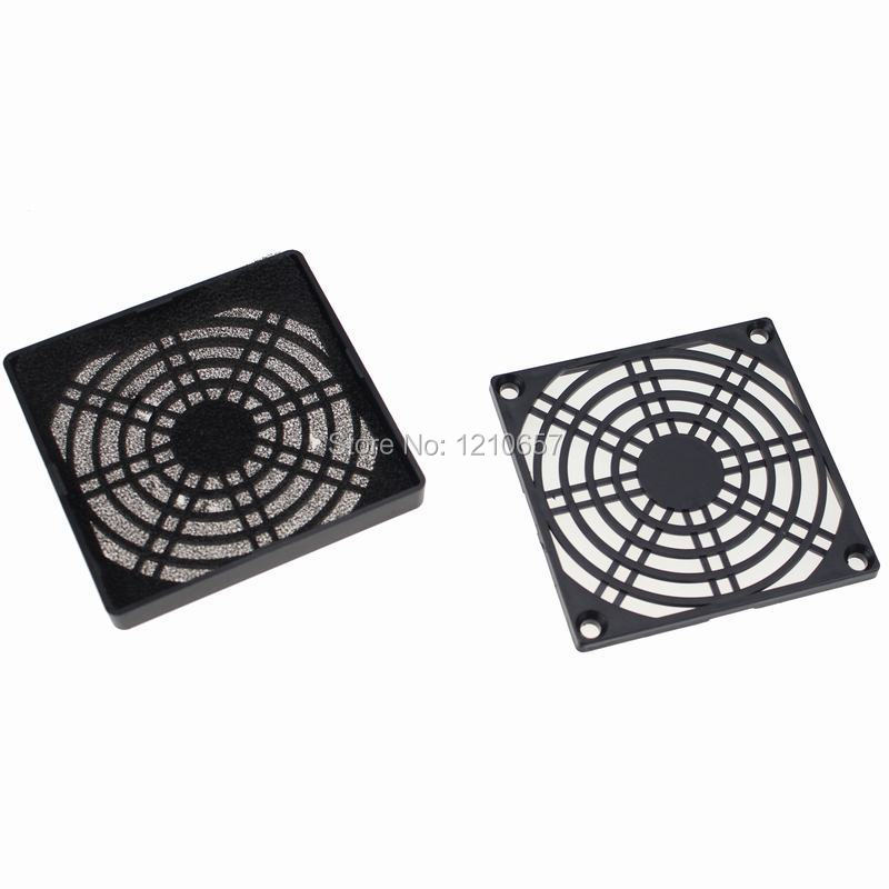 5pieces LOT Guard Black Plastic Dustproof Filterable 60mm Computer Fan Filter