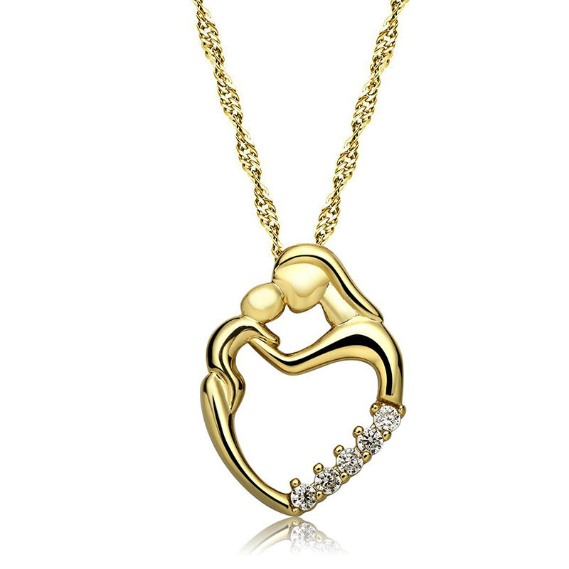 Best Mother's Day Gift Women Crystal Nice Necklace with Pendant Special Meaningful Crystal Neck Chain