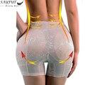 Дамы Мягкие Трусики Butt Lifter Enhancing Body Shaper Трусики для Женщин Бесшовные Батт Хип Enhancer Формочек Белье M-4XL