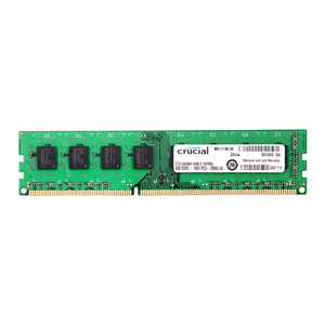 Image 1 - Crucial DDR3 PC3 12800S 4GB DDR3 1600MHz 2X4GB(8GB) 240 pin  DIMM Desktop Memory Module