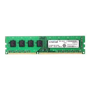Image 1 - Entscheidend DDR3 PC3 12800S 4GB DDR3 1600MHz 2X4GB (8 GB) 240 pin DIMM Desktop Speicher Modul