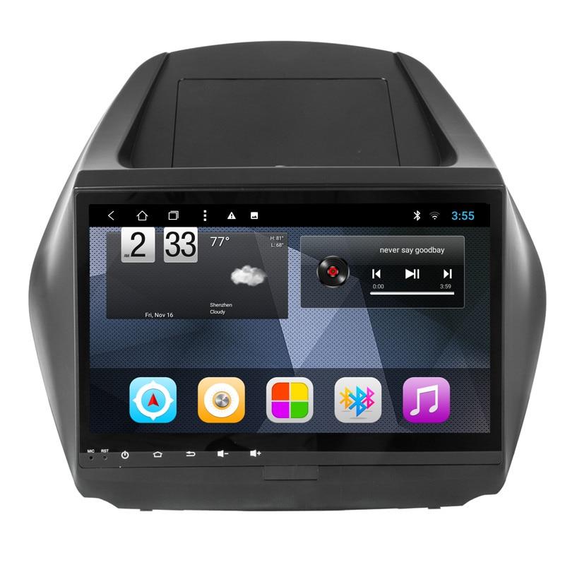 Ectwodvd 10.1inch Octa Core Android 8.1 Car DVD Player GPS Navigation Multimedia For Hyundai ix35 2010
