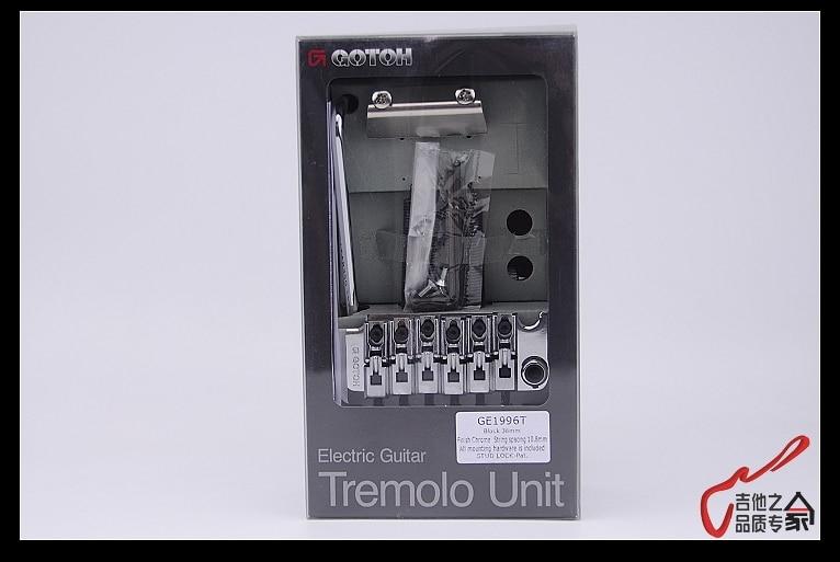 Image 5 - オリジナル本物の後藤GE1996T (36ミリメートルブロック)ダブルロッキングトレモロシステム橋なしでロックナット(クローム)日本製tremolo systemtremolo bridgegotoh tremolo bridge -