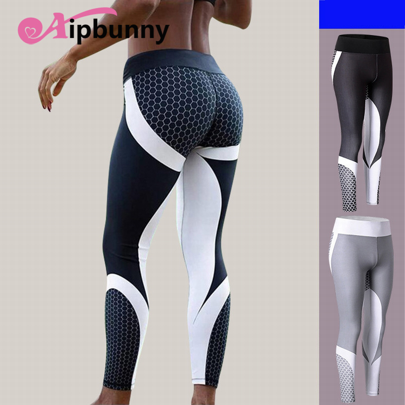 Aipbunny Sexy Women Yoga Sport Pants Compression Tights Fitness Leggings push up workout Running Gym Jogging Femme yoga pants