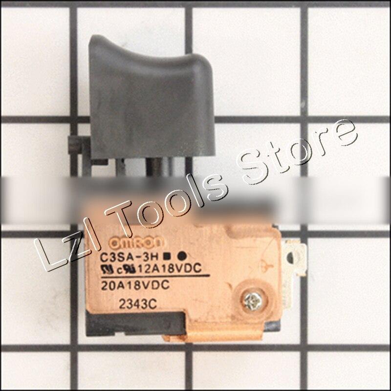 Genuine 18V DC-SPEED CONTROL SWITCH for Hitachi 333640 DS18DSDL DS18DMR DS18DL DS14DSDL DS14DMR DS14DL Cordless Impact Driver набор bosch ножовка gsa 18v 32 0 601 6a8 102 адаптер gaa 18v 24