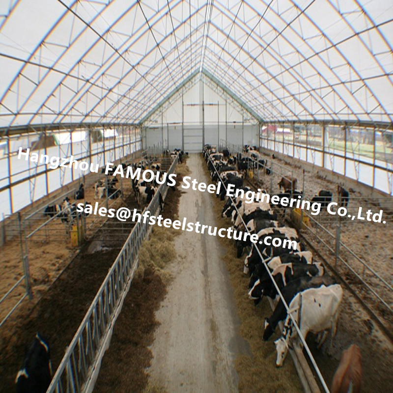 Coverall Style Building Largespan Fabric Structures For Poultry Sheds Or Storage Wareouse