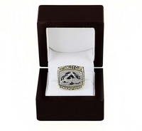 WITH BOX National Hockey League 2001 COLORADO AVALANCHE STANLEY CUP 3D Design High Quality Replica CHAMPIONSHIP