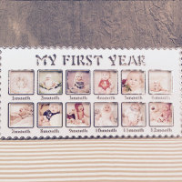 Elegant Infant S One Year Picture Hanging Decorative Party Banquet Photo Frames