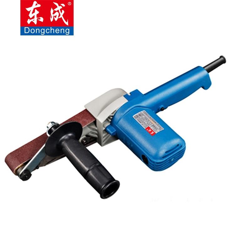 Levigatrice a nastro per tubi 550w 220v, lucidatrice portatile per utensile di lavorazione dell'acciaio inossidabile