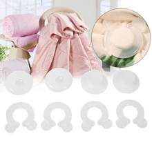 4Pcs Bed Duvet Quilt Cover Clips Fasteners Bedroom Bedding Quilts Fixing Holder Gripper Plastic Cover Clips(China)