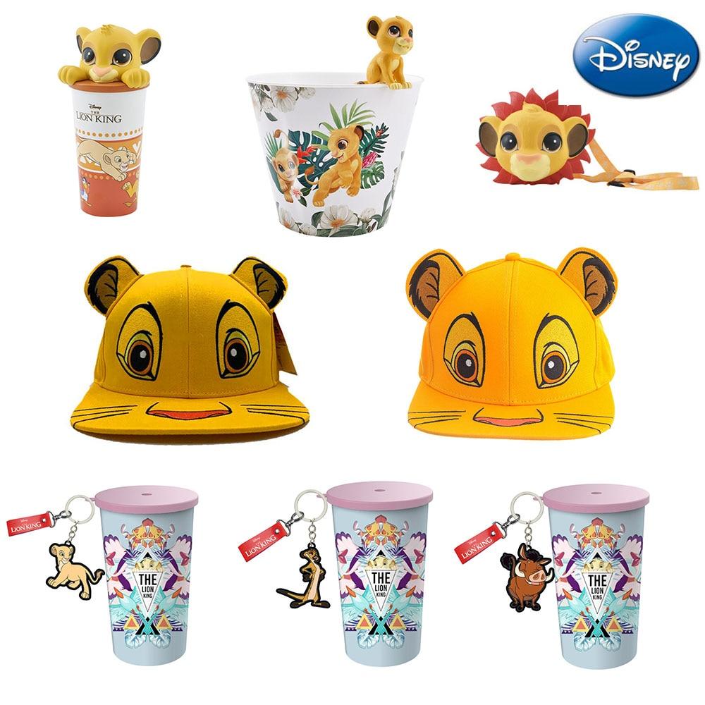 Disney Cup-Toys King-Figure-Cap Popcorn Simba Movie LION Anime Children for Funs Barrel