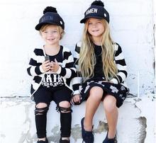 2016 Nouveau Printemps Automne Garçons Filles Chandail Rayé À Manches Longues Bébé Cardigan Enfants Vêtements Mode Enfants Chandail