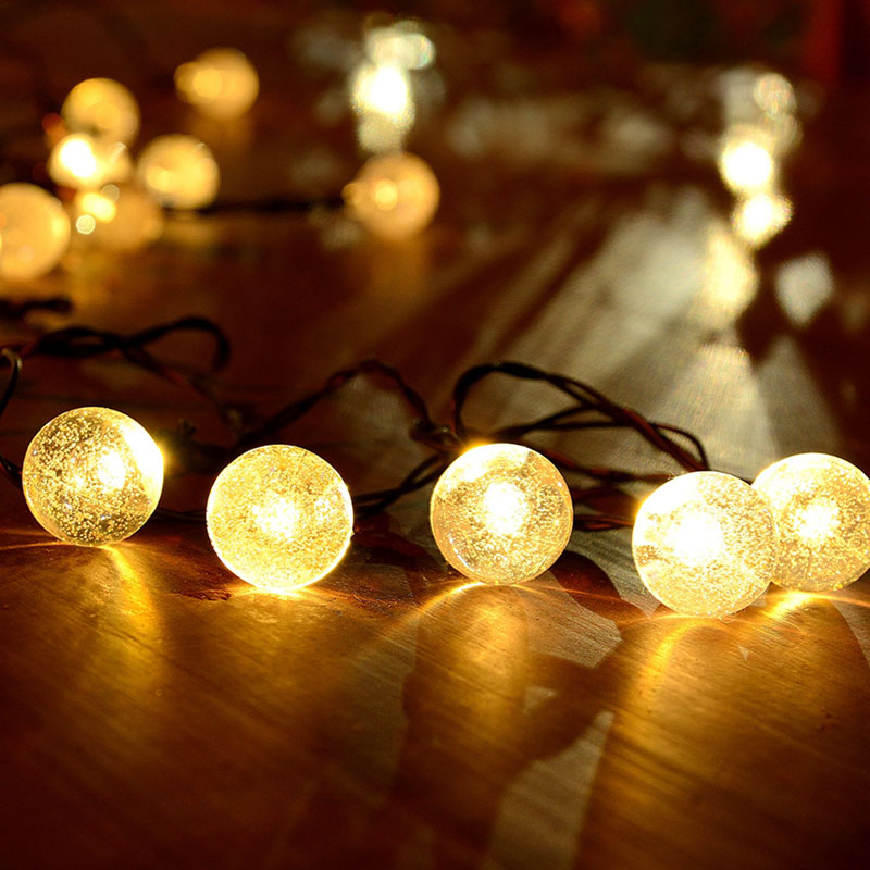 96 LED Multi Colour 7m String Christmas Lights Battery powered Fairy Lights,