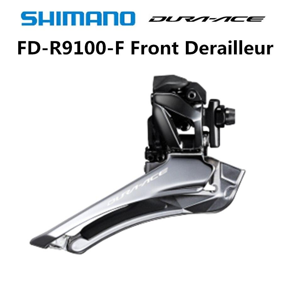 Shimano Dura Ace FD R9100 F Derailleur 2x11 Speed Road Bicycle Front Derailleur R9100 9100 Braze