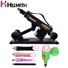 Hismith Automatic Sex Machine for Couple Multi-speed Adjustable Thrusting Sex Toys Male Masturbation Retractable Dildo for Women vibrator sex machine set for men and women automatic retractable thrusting speed machine with vagina cup and dildo adlut sex toy